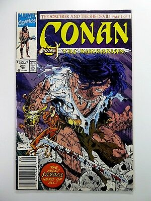 Marvel CONAN The BARBARIAN #241 Key McFARLANE Cover NEWSSTAND GD 2.0 Ships FREE!