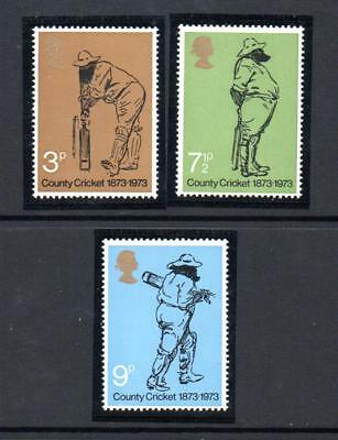 GB 1973 County Cricket 1873-1973. MNH.One postage for multi  buys.