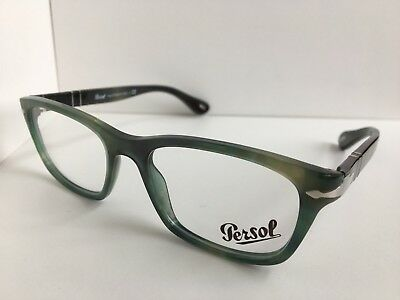 03396b768a441 NEW AUTHENTIC PERSOL 3012-V 990 Matte Purple Eyeglasses Rx Frame ...