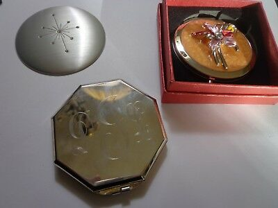 Vintage And Modern Mirror Compact Lot