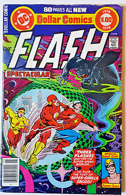 DC SPECIAL SERIES #11 FLASH SPECTACULAR DOLLAR COMICS 1978 80 pages