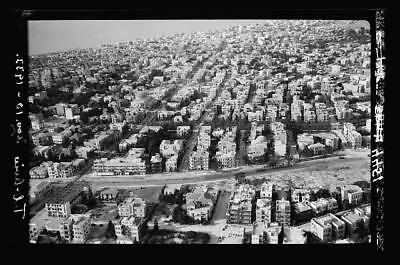 Air views of Palestine,Tel Aviv,Israel,Middle East,American Colony Photo Dept,4