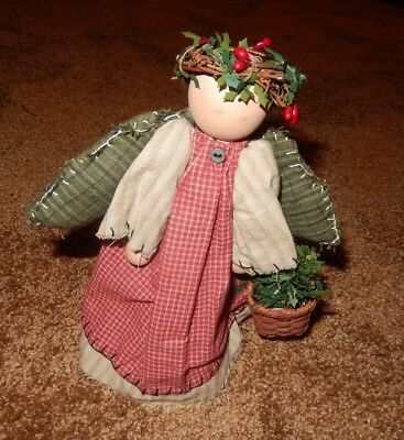 Country Style Angel Christmas Tree Topper