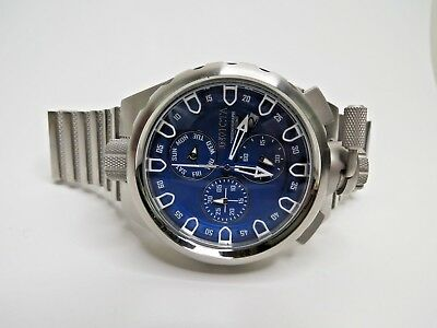 Invicta Mens Sniper Watch Coalition Forces Blue Chronograph Stainless 26453
