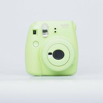 Instax mini 9 Instant Camera - Lime Green & mini film Photo Paper 2 Packs