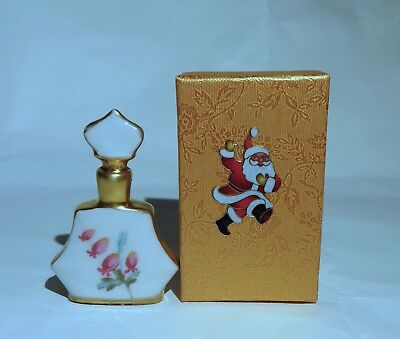 *SwEEt*ANTIQUE PORCELAIN GERMAN*PERFUME/SCENT BOTTLE/JAR GERMANY*w/ GIFT BOX