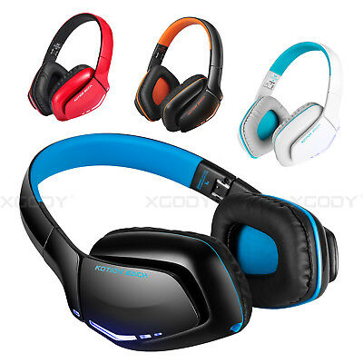 3.5mm EACH Wireless Gaming Headset w/Mic Headphones Wired for PS4 Xbox one PC