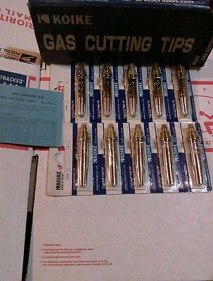 Lot of (10) Koike 106-d7-4 tips #4