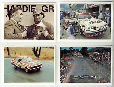 Sanitarium Weetbix- Australia's Greatest Race (Bathurst) - Peter Brock - 4 cards