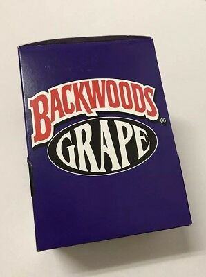Discontinued Grape Backwoods Rare Exotic Single Pouch Of 5