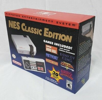 NES Classic Edition Modded w/722 Games Authentic Nintendo Console CLV S NESA USZ