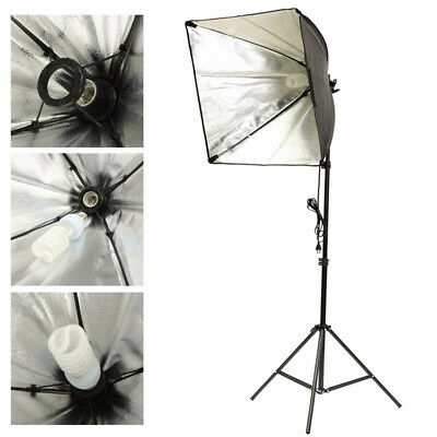 Softbox Photography Continuous Lighting Bulb Holder 2 Levels Video Universal