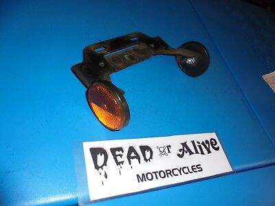 SYM MIO 50cc  REAR NUMBER PLATE HOLDER / REFLECTORS