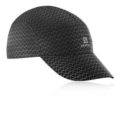 5d57242a5f7 Salomon Unisex Reflective Cap Black Sports Outdoors Running Breathable