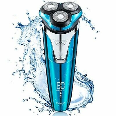 Paladou Professional Electric Razor Rotary Shavers For Men, Best Personal Portab