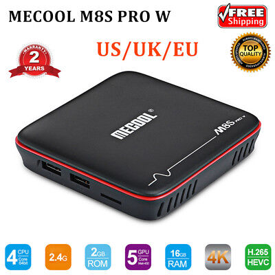 Mecool M8S PRO W Android 7.1 Amlogic S905W 4K 3D TV Box 2+16GB Wifi Quad-Core