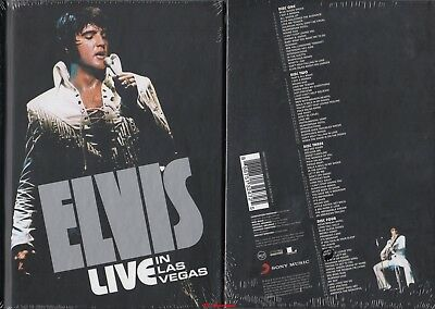 Elvis Presley - Live In Las Vegas (2015) audio-CD-Box-Set * NEU & OVP *