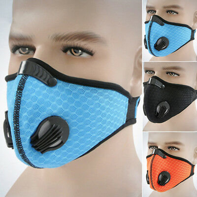 Dust Proof Anti-pollution Face Mask Ski Air Filter Breathing Respirator Bicycle