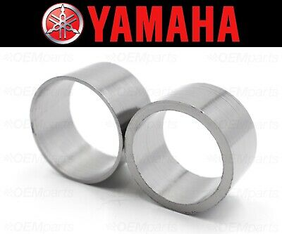 Set of (2) Yamaha XV750/920 Exhaust Muffler Silencer Pipe Connector Joint Gasket