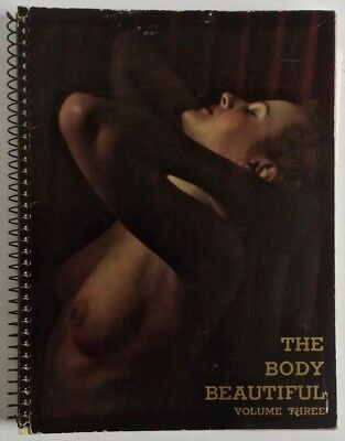 Complete Rare 1937 Vol.3 The Body Beautiful Magazine Art Nude Figure Photography