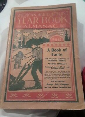 American Agriculturist Yearbook & Almanac 1904