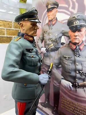 "1/6th CS00196 COLLECTORS SHOWCASE - ""ERWIN ROMMEL"" ATLANTIC WALL - LTD 500 - UK."