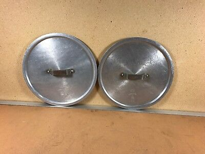 Dura-Ware Vintage Round Lids, #416, Lot Of 2