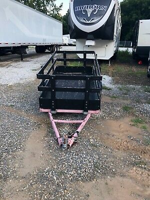 4x8 foldable utility trailer with removable sides