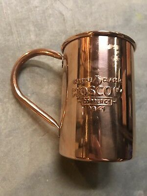 Genuine Classic Moscow Copper Co Mug Mule Absinthe Show Caesars Palace Las Vegas