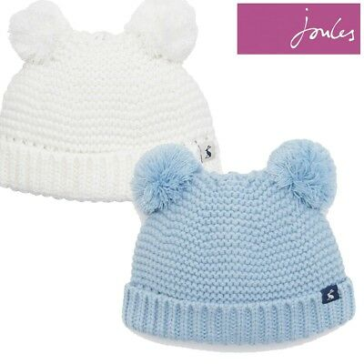 Joules Baby Knitted Double Pom Hat (Z)