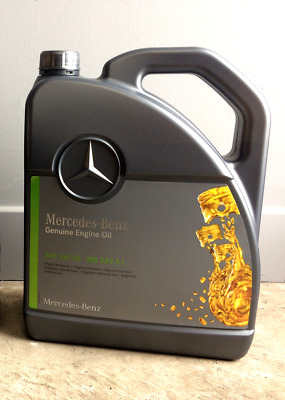 Genuine Mercedes-Benz 229.51 Car Engine Oil - Fully Synthetic Diesel Low Ash 15L
