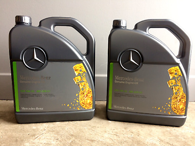 10L Genuine Mercedes-Benz 5W30 Engine Oil Low Ash SAPS MB 229.51 Fully Synthetic