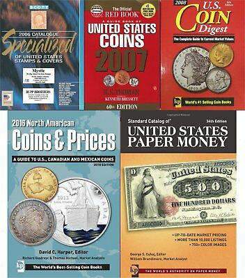 USA Stamps, Coins, Banknotes & Paper Money Errors 7 PERFECT SCAN