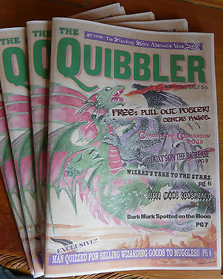Harry Potter - The Quibbler - Issue 1 - Complete Magazine - Original