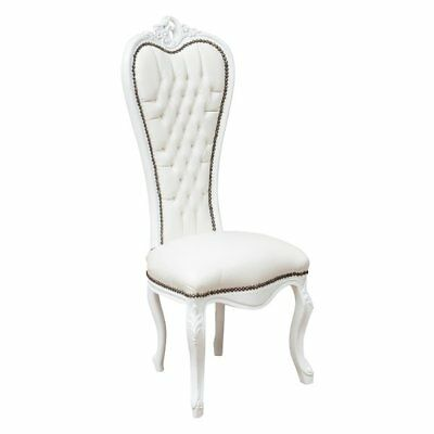 Louis XVI French style solid beech wood armchair