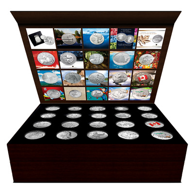 Collection - Canada $20 For $20 + $25 For $25 (2011-2016) with box