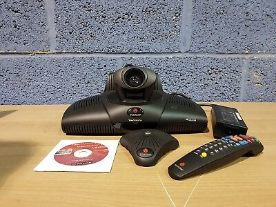 Polycom PVS-16XX ViewStation H323 Video Conference System + Remote + AC Adapter