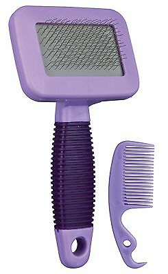 6288 Grooming Care Hair Brush Tool + Comb for Rabbit Guinea Pig Ferret by TRIXIE