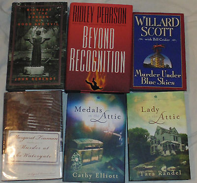 Ridley Pearson Mystery Suspense Novels Beyond Recognition Lot of 6