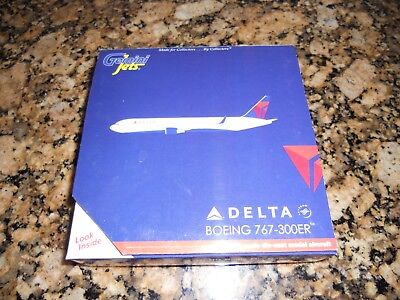 Gemini Jets 1:400 scale Delta Air Lines Boeing 767-300ER
