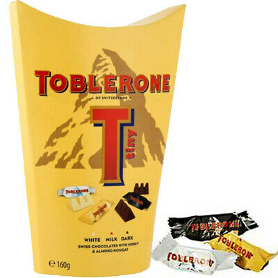 Toblerone Tiny Mix 160g Snackbox MHD:3.1.19