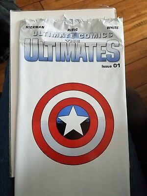 Ultimate Comics: The Ultimates 1 (Marvel, 2011) with polybag, opened