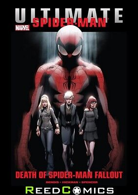 ULTIMATE COMICS SPIDER-MAN DEATH OF SPIDER-MAN FALLOUT GRAPHIC NOVEL Collect 1-6