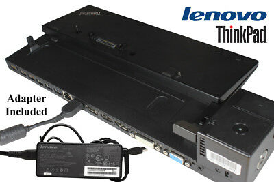Lenovo ThinkPad Pro Dock 40A2 Docking Station 00HM917 90W AC Adapter Included