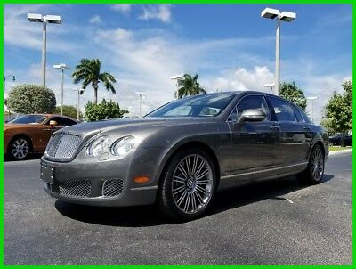 2012 Bentley Continental Flying Spur Speed 2012 Speed Used Turbo 6L W12 48V Automatic AWD Moonroof