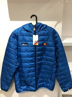 c4480592c0 Mens Ellesse Lombardy Lightweight Jacket Size Large Blue Brand New With Tags
