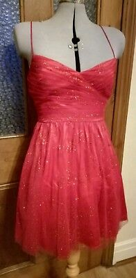 Hailey Logan By Adrianna Papell Cocktail Dress Size 7-8 Brand New With Tags