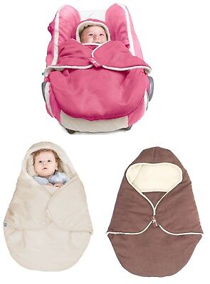 Wallaboo - Baby Blanket Coco Nore - For Car Seat And Stroller -100% Pure Cotton