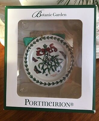 New In Box Portmeirion Botanic Garden Miniature Plate Ornament