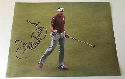 Ian Poulter Signed 16X12 Photo Ryder Cup Legend Private SIGNING AFTAL COA (C)